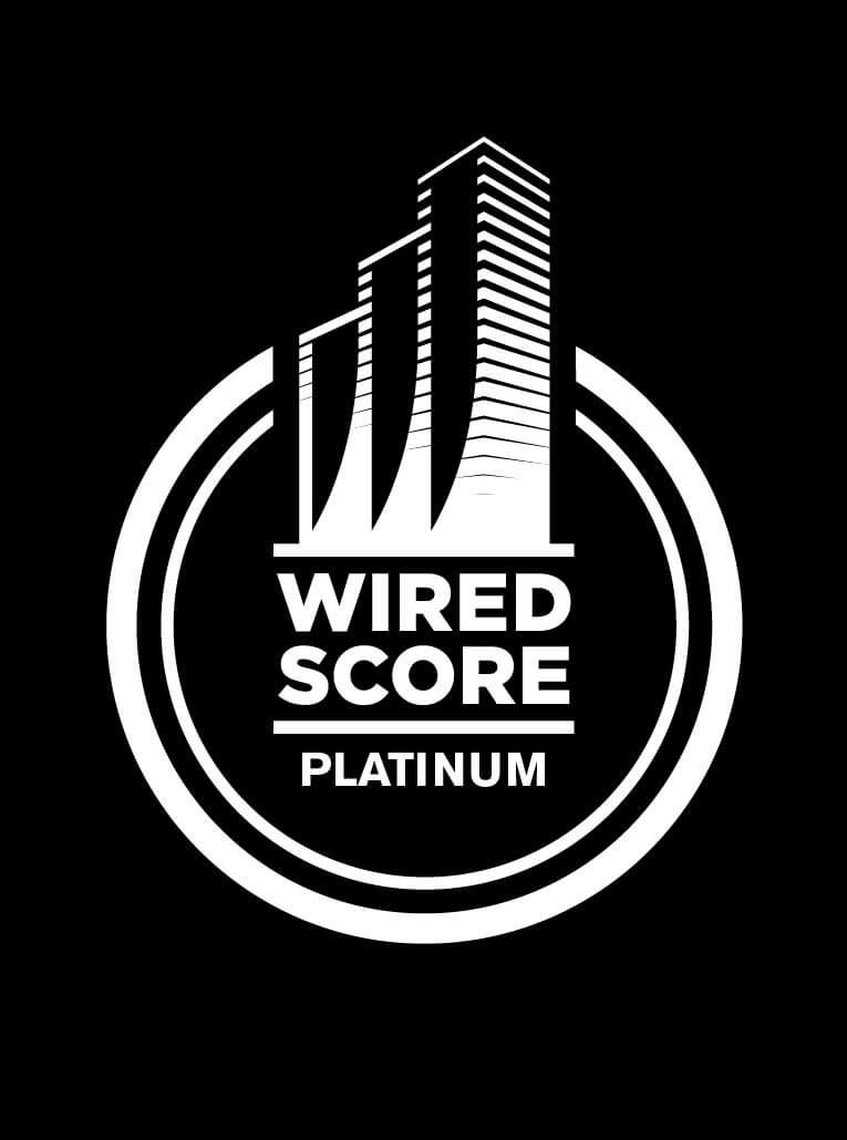 Büro- und Hotelhochhaus ONE erhält als erstes Gebäude in Deutschland WiredScore Zertifikat in Platin
